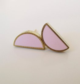 Moonlight for Violet Half Moon Studs - Assorted Colours