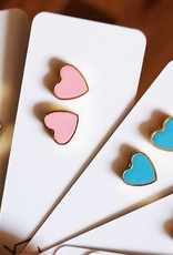 Moonlight for Violet Moonlight for Violet Heart Studs - Assorted Colours