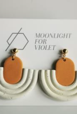 Moonlight for Violet Moonlight for Violet Clay Dangle Earrings - Assorted Colours