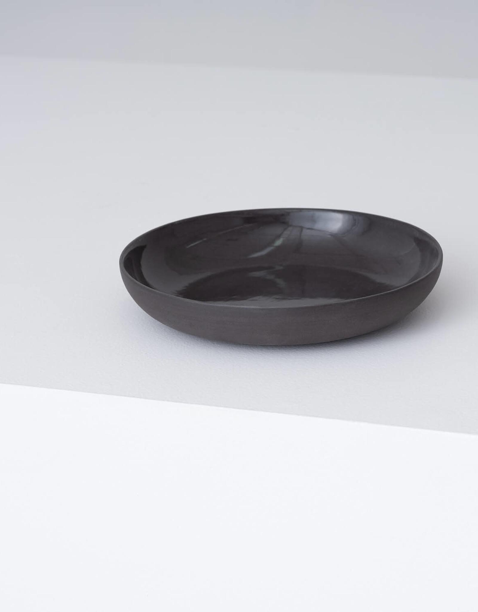 EQ3 EQ3 Garrido Stoneware Pasta Bowl-Black