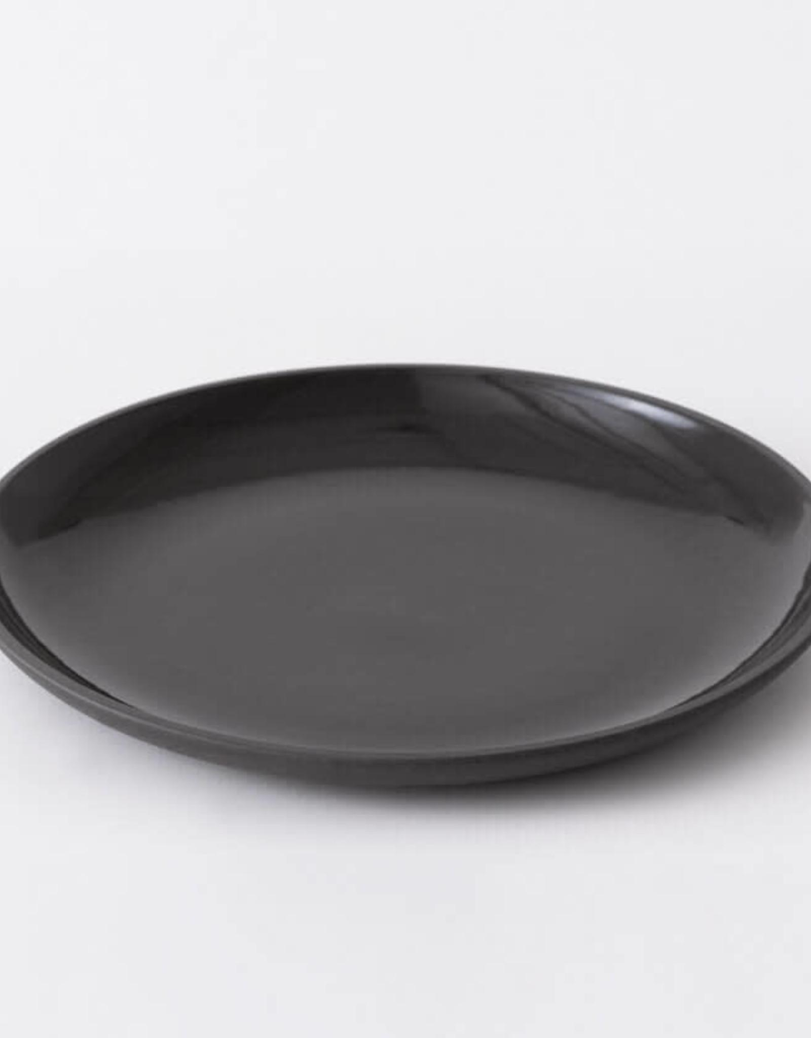 EQ3 EQ3 Garrido Stoneware Side Plate-Black