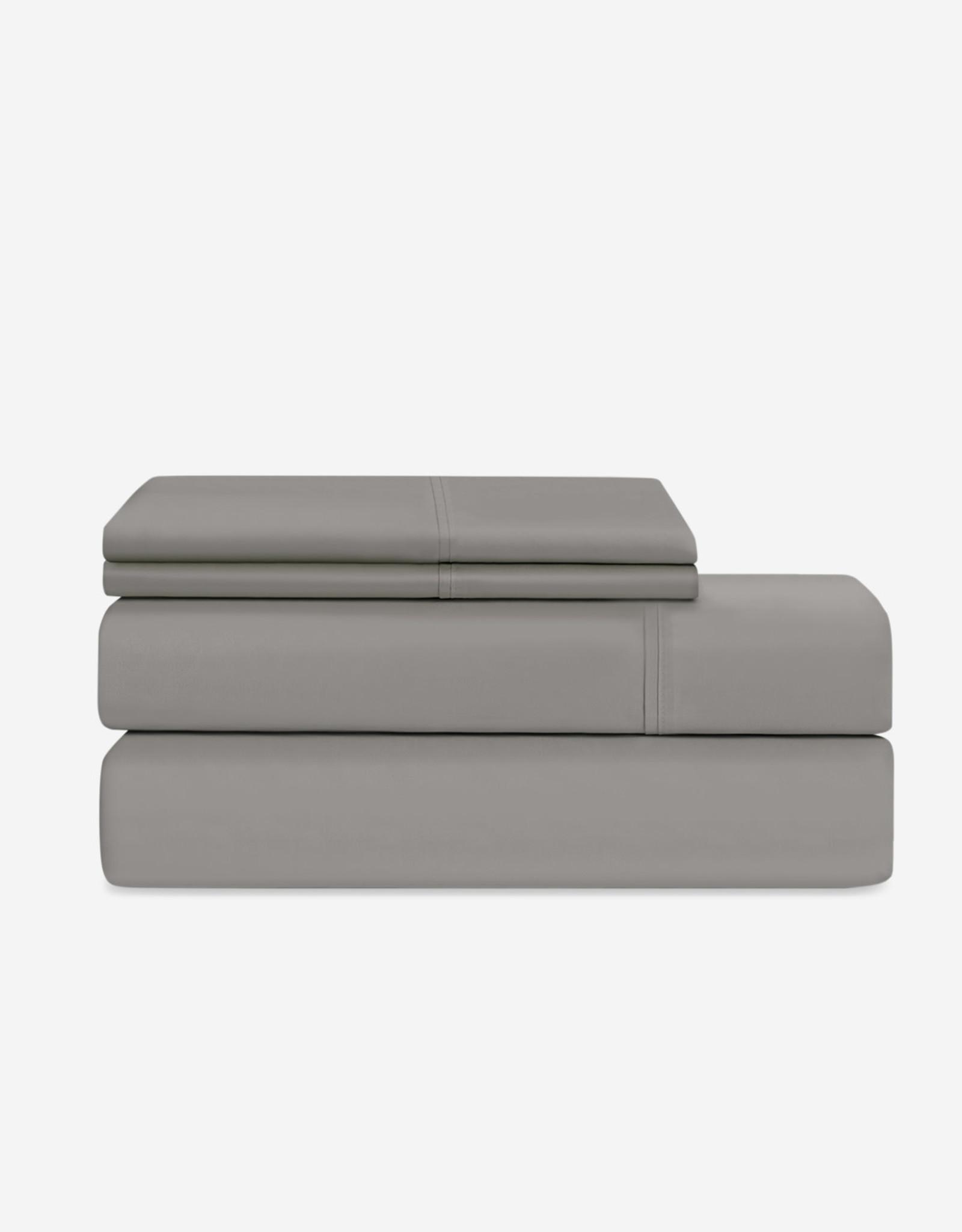 EQ3 EQ3 Organic Cotton Queen Sheet Set-Grey