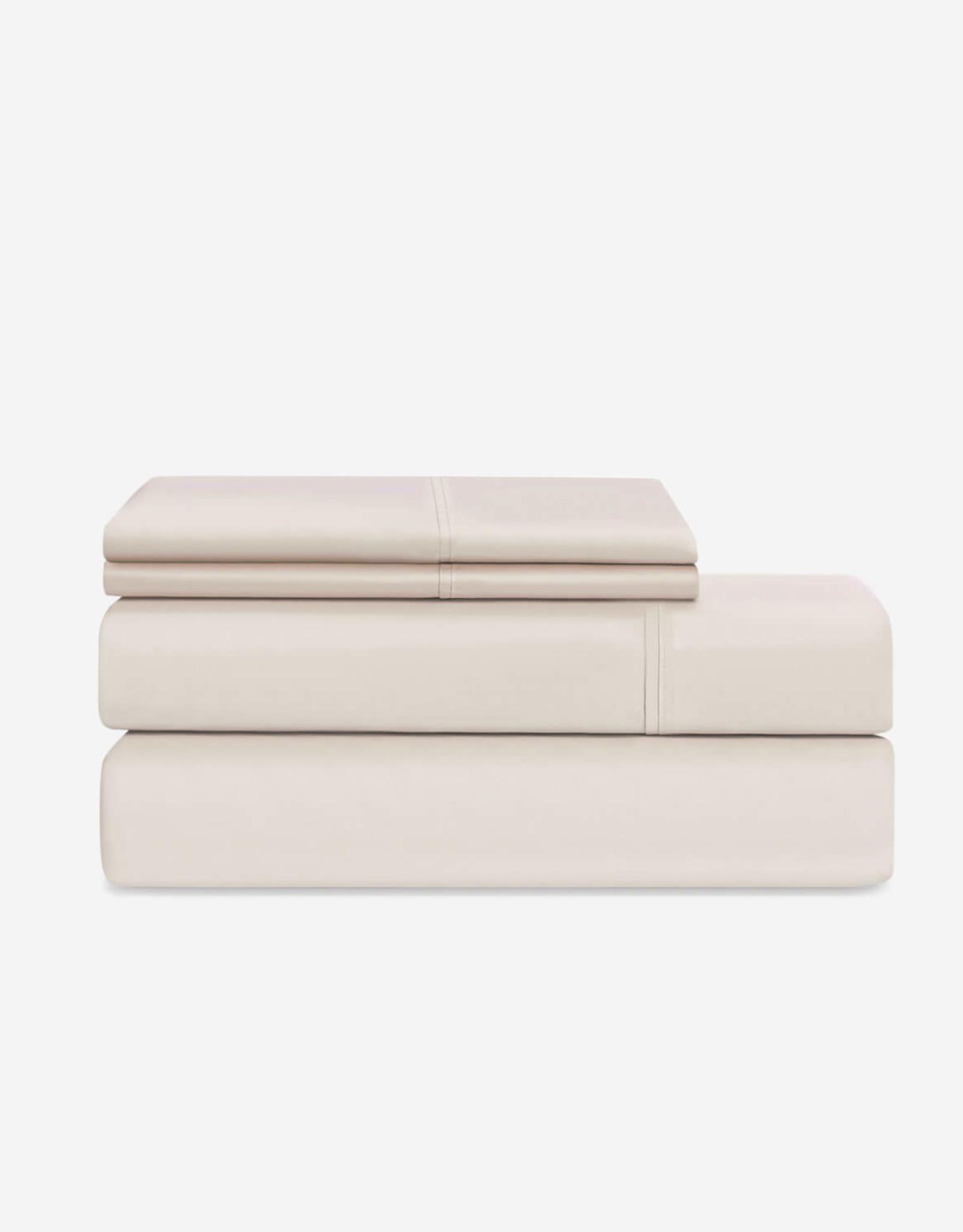 EQ3 EQ3 Organic Cotton King Sheet Set-Natural