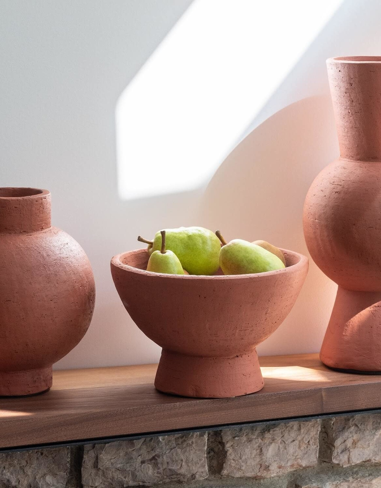 EQ3 Terracotta -Tall Vase