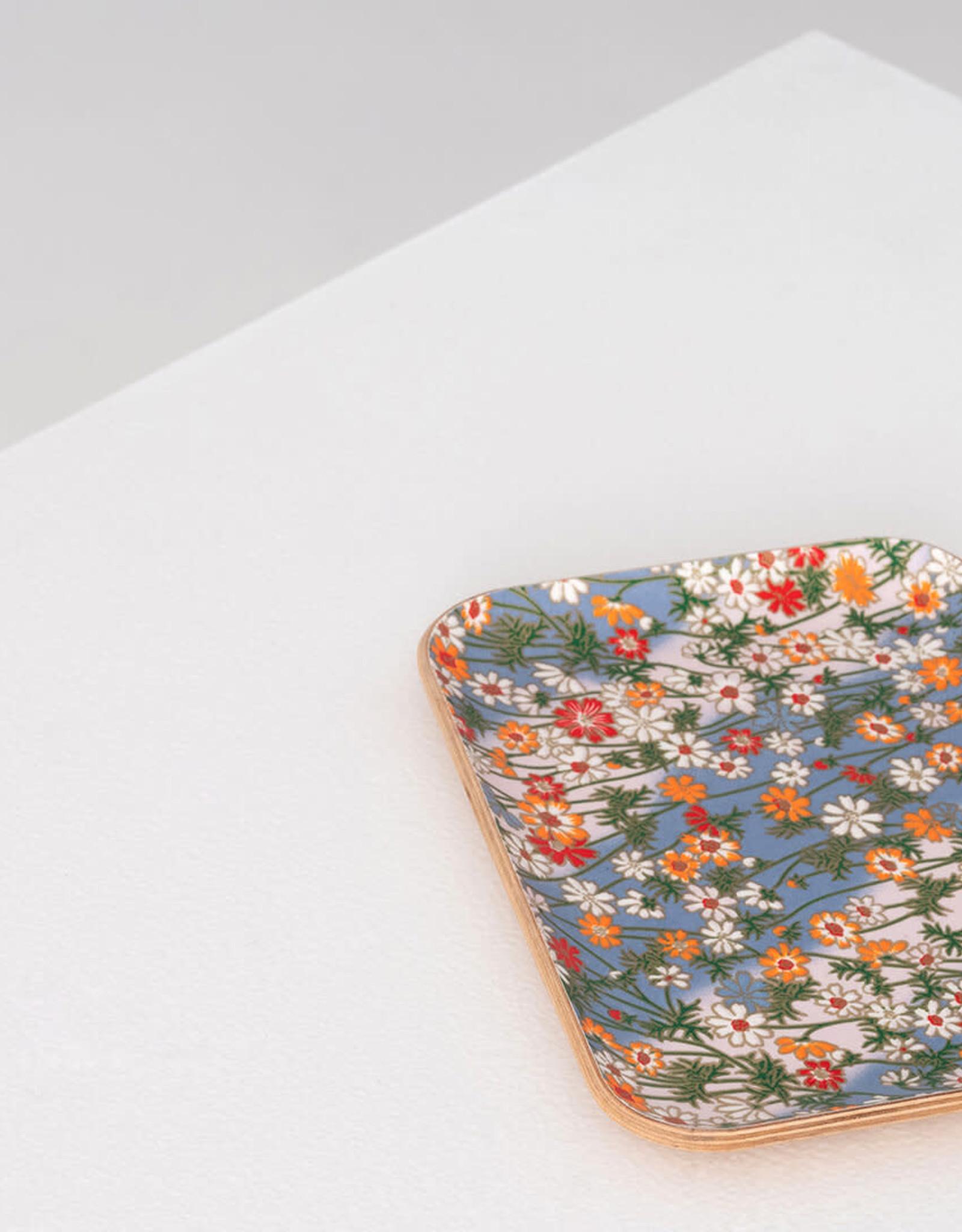 EQ3 EQ3 Fika Floral Tray-Small-Oak