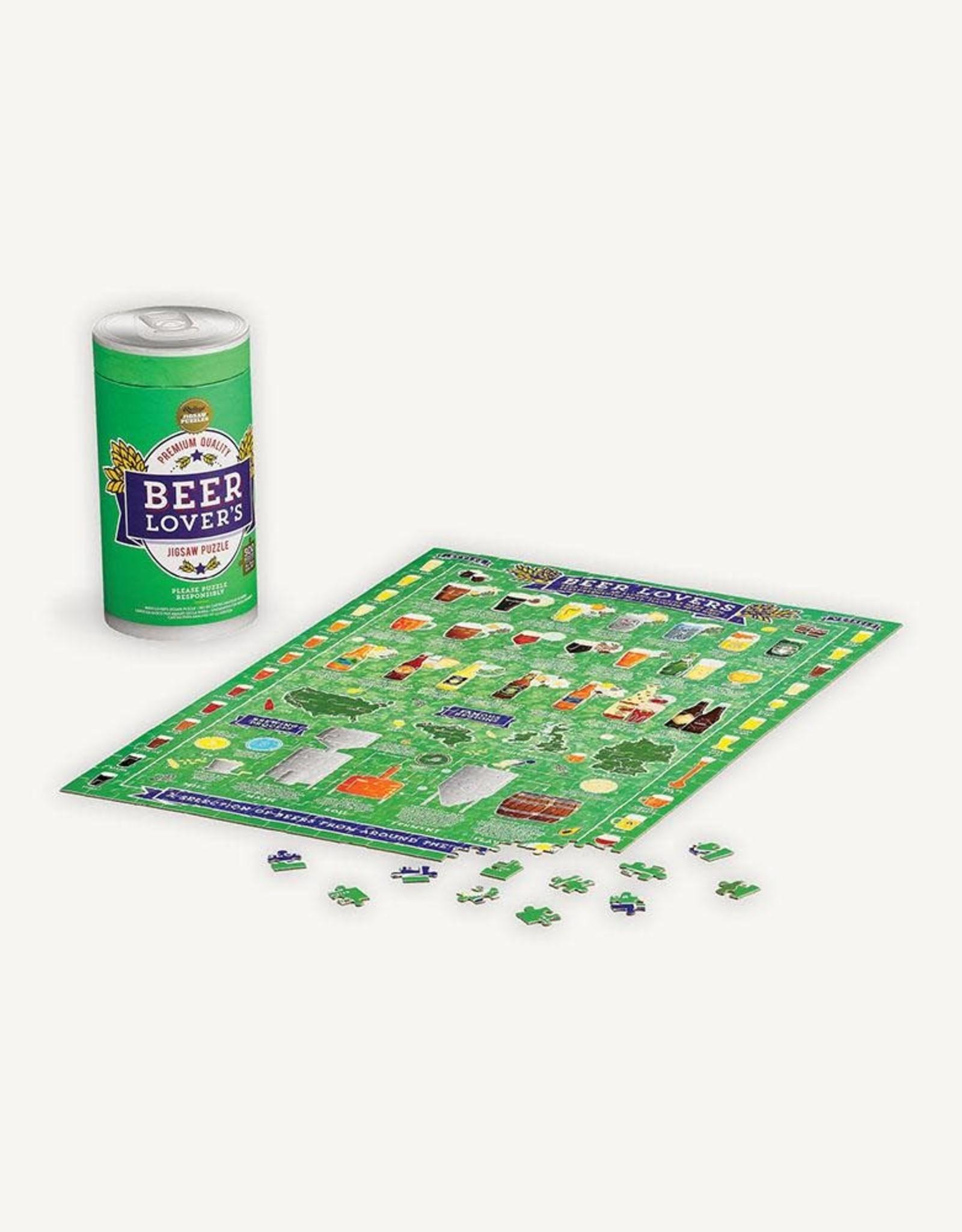 Raincoast Books Beer Lovers Puzzle