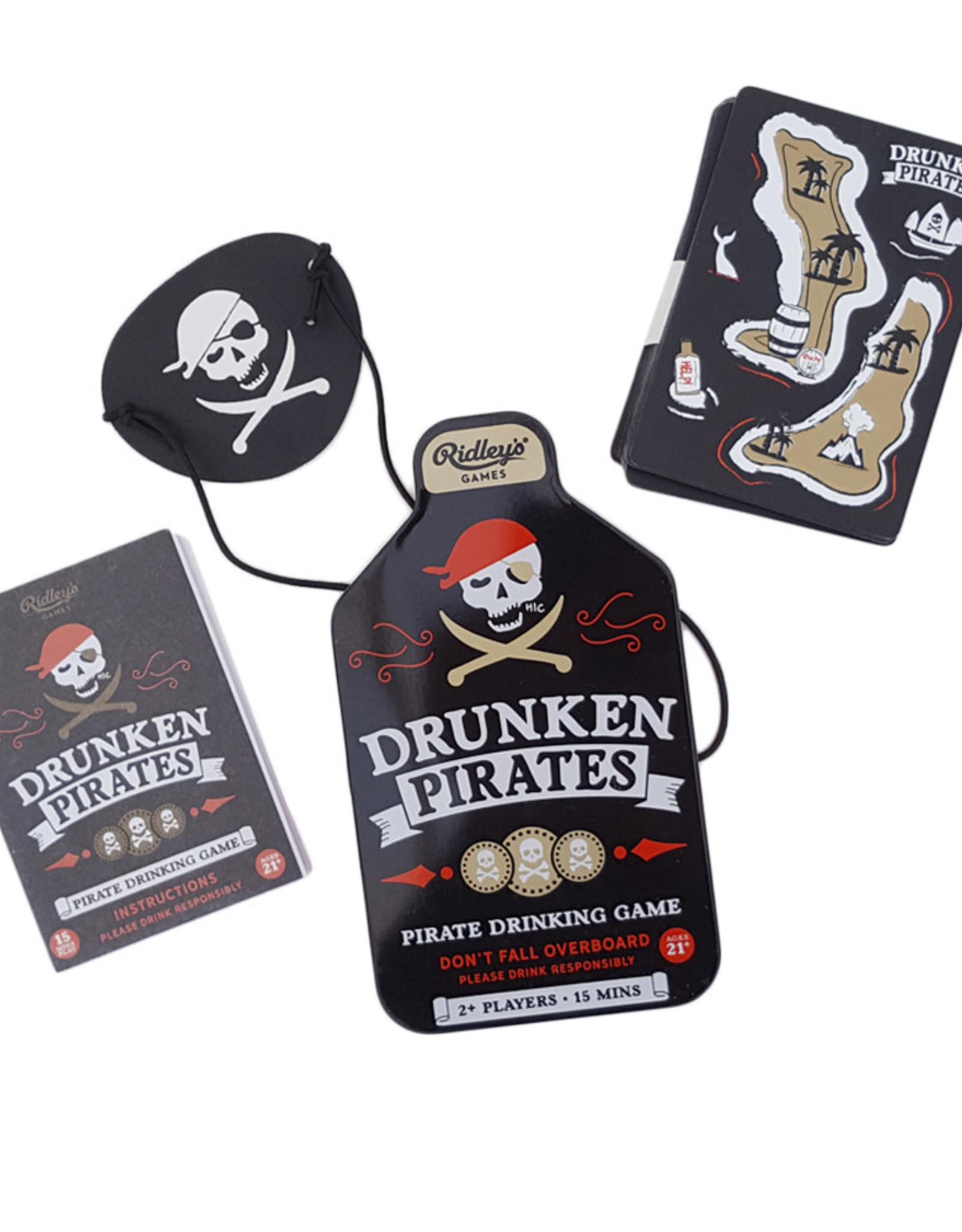 Raincoast Books Drunken Pirates  Drinking Game