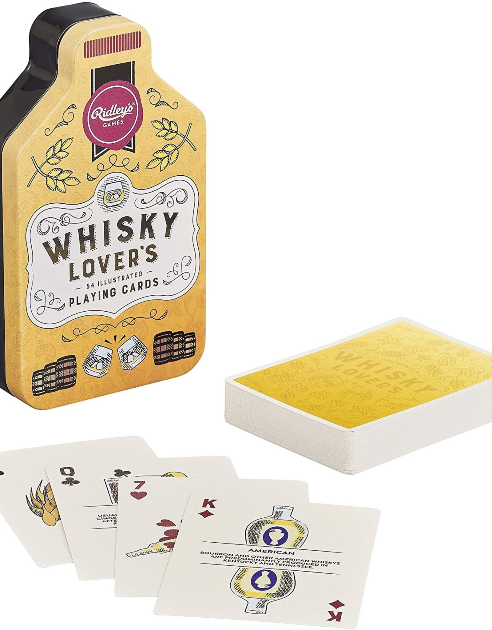 Raincoast Books Whisky Lover's Playing Cards