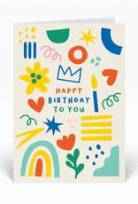 Paper E Clips Paper E Clips Happy Birthday To You
