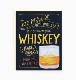 Paper E Clips Whiskey Birthday