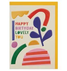 Paper E Clips Lovely You Birthday