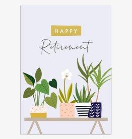 Paper E Clips Happy Retirement Plants