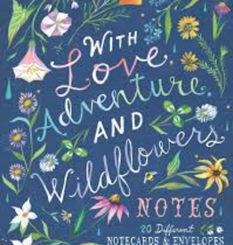 Raincoast Books With Love Adventure And Wildflowers Notes