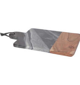 Danica Marble Serving Paddle-Gray