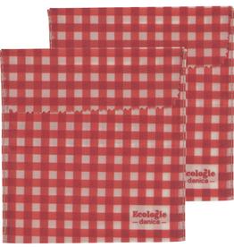 Danica Beeswax Sandwich Wrap-Gingham Set 2