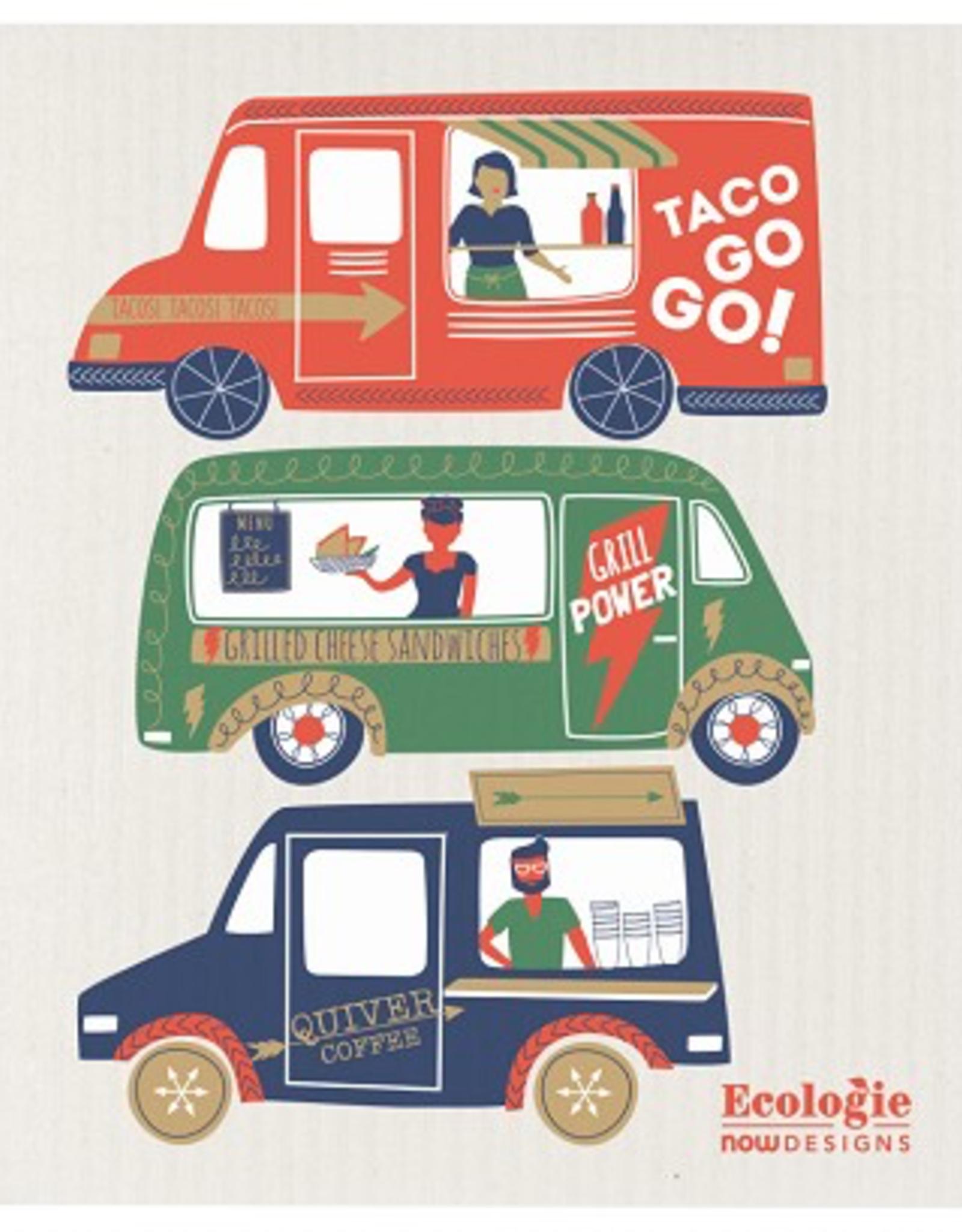 Danica Danica Food Trucks Dishcloth