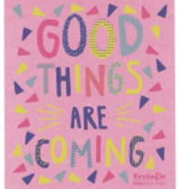 Danica Good Things Coming Swedish Dishcloth
