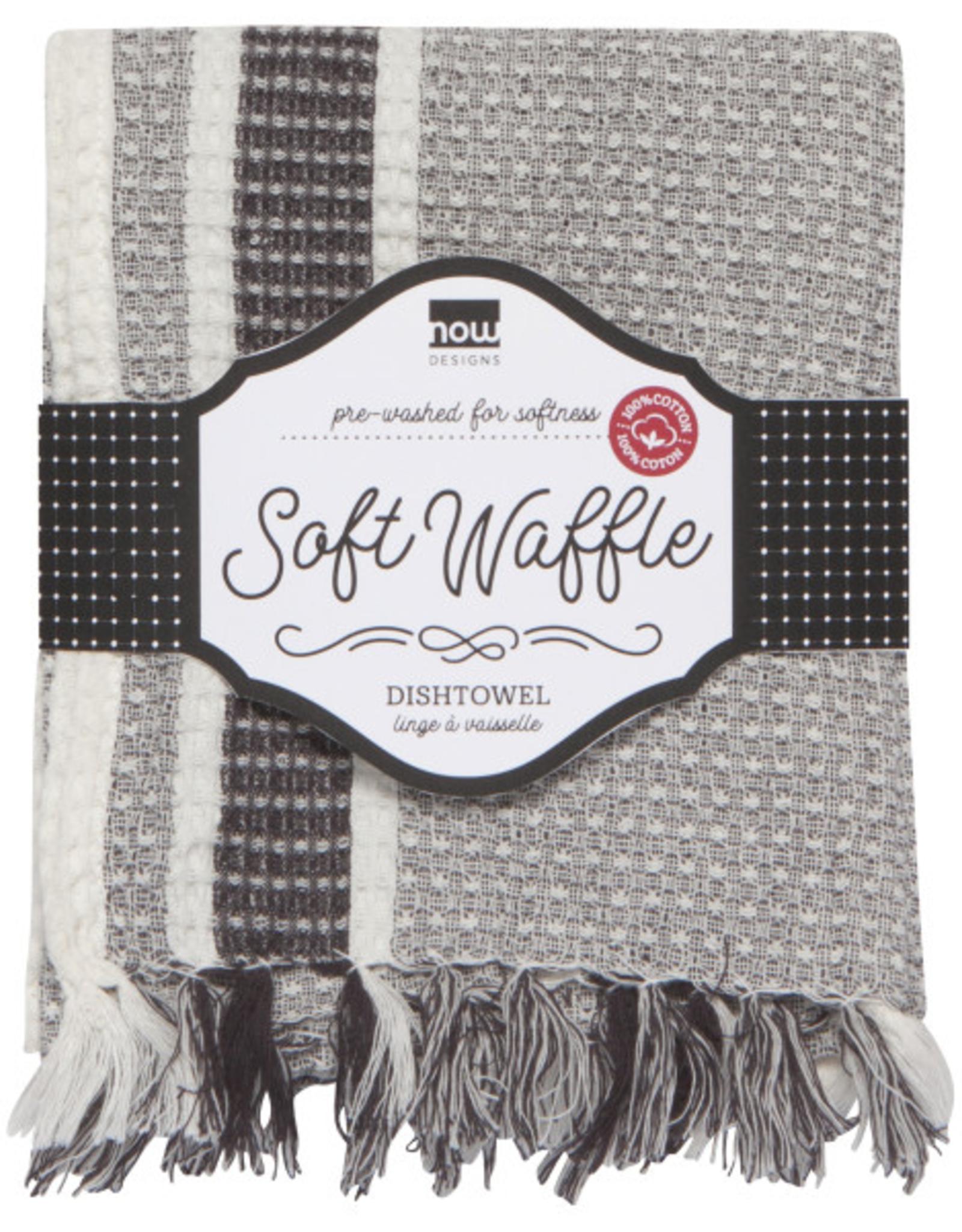 Danica Danica Waffle Tea Towel-Shadow