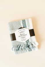 Danica Danica Waffle Tea Towel-Lagoon