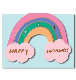 Paper E Clips Rainbow Diecut