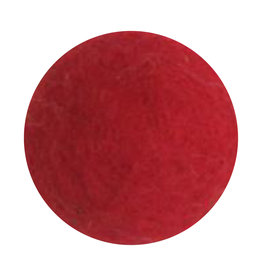 EGS Felt Flower- Bright Red - Big