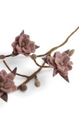 EGS EGS - Magnolia Branch Dusty Rose Flowers