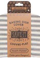 Danica Danica Baking Dish Cover Tick Stripe