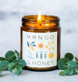 My Weekend Is Booked Mango & Honey Candle