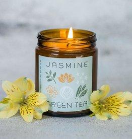 My Weekend Is Booked Jasmine & Green Tea Candle