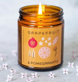 My Weekend Is Booked Grapefruit & Pomegranate Candle