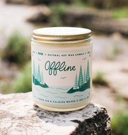 My Weekend Is Booked Offline Candle