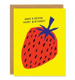 Badger & Burke Berry Birthday Card