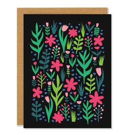 Badger & Burke Flower Field Card