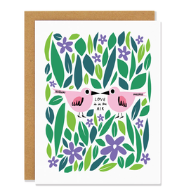 Badger & Burke Love Is In The Air Card