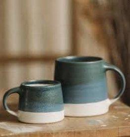 Kinto Slow Coffee Mug 320ml - Navy/White
