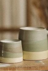 Kinto Slow Coffee Mug 320ml - Moss/Yellow