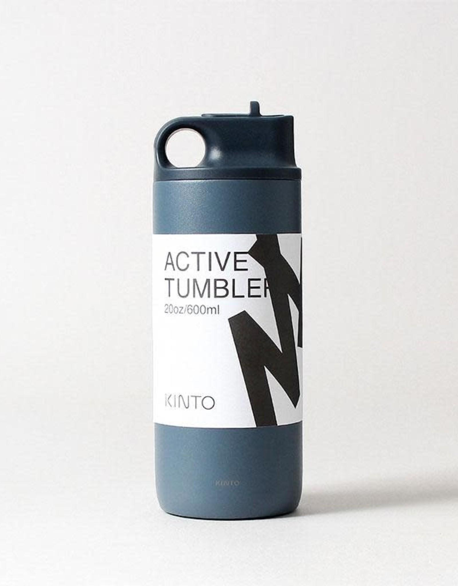 Kinto Active Tumbler 600ml - Blue Grey