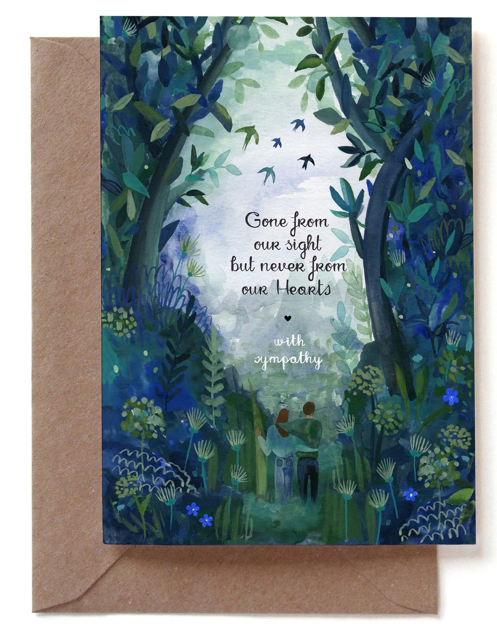 Paper E Clips Paper E Clips Sympathy Birds Card