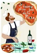 Paper E Clips Paper E Clips Pizza Je T'aime Card