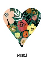 Paper E Clips Paper E Clips Merci Heart Card
