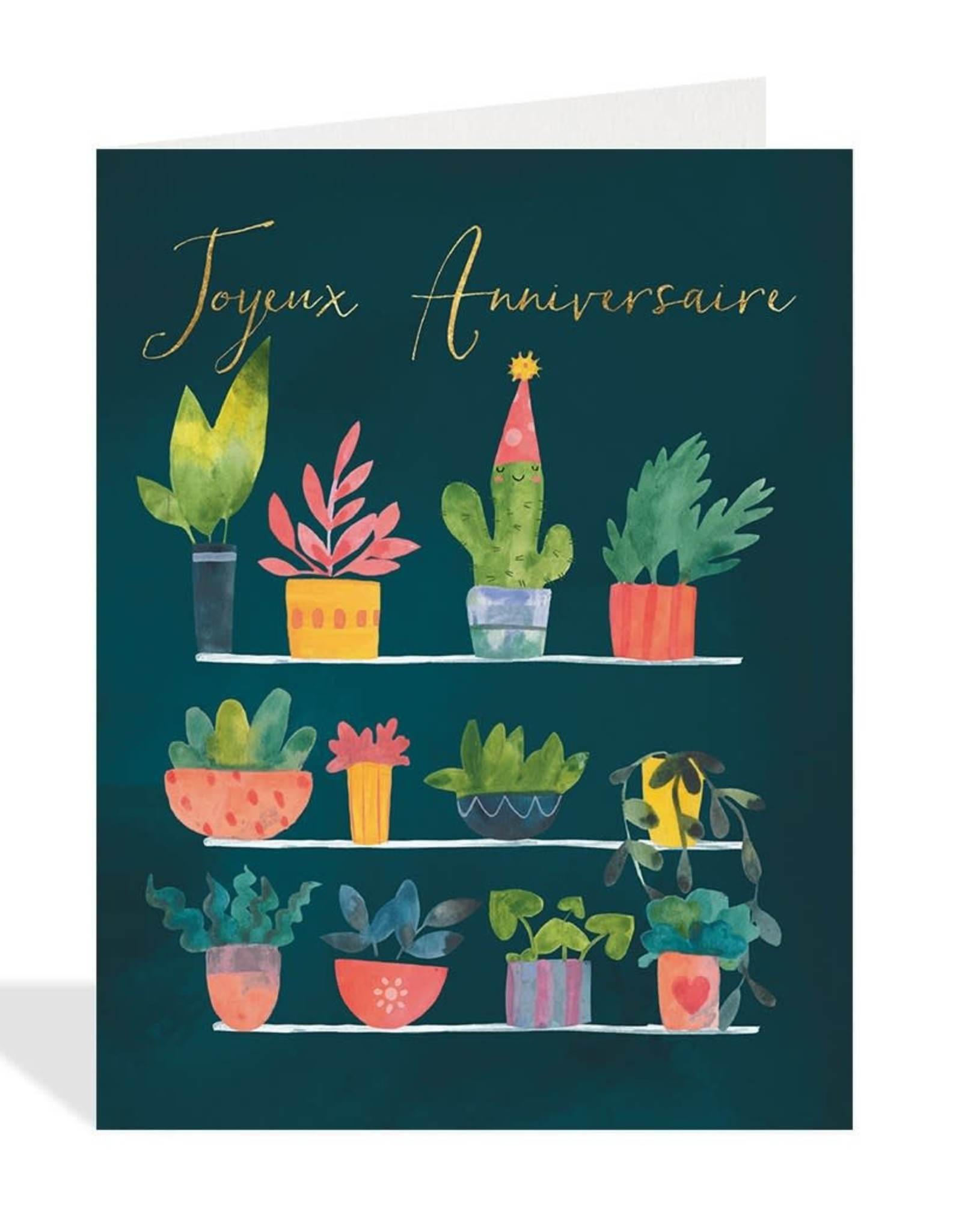 Paper E Clips Paper E Clips Les Plantes Card