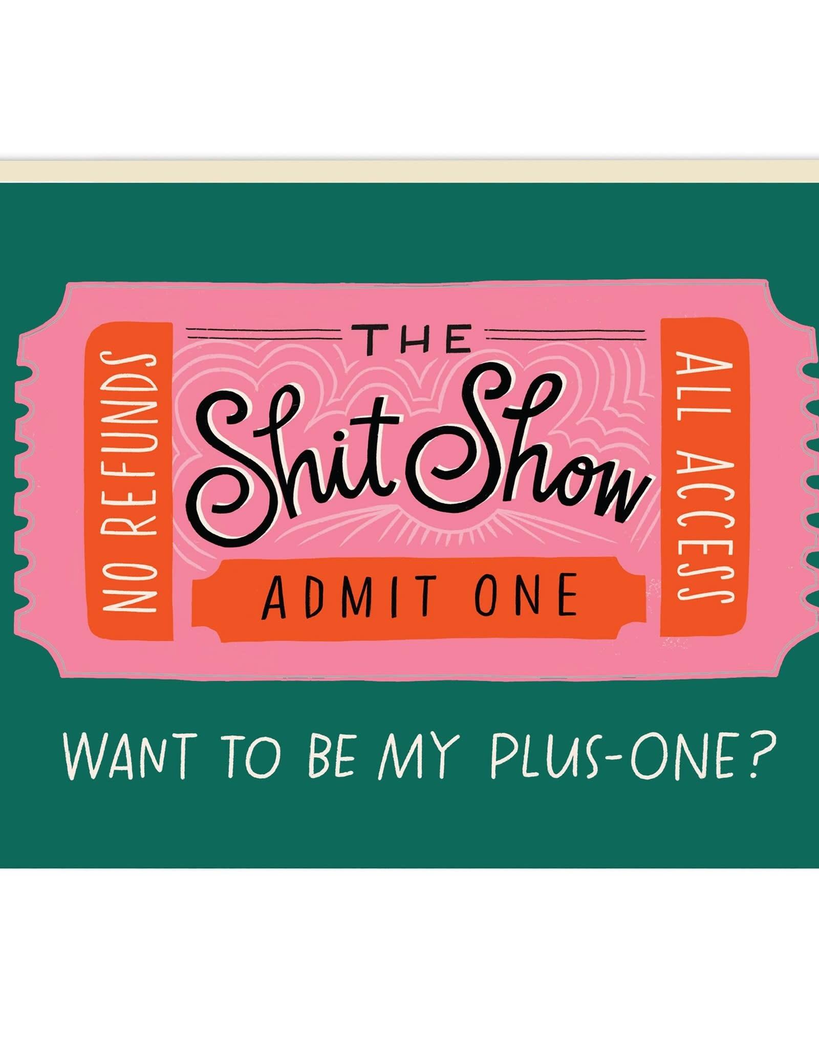 Paper E Clips Paper E Clips Shit Show Ticket Sticker Card