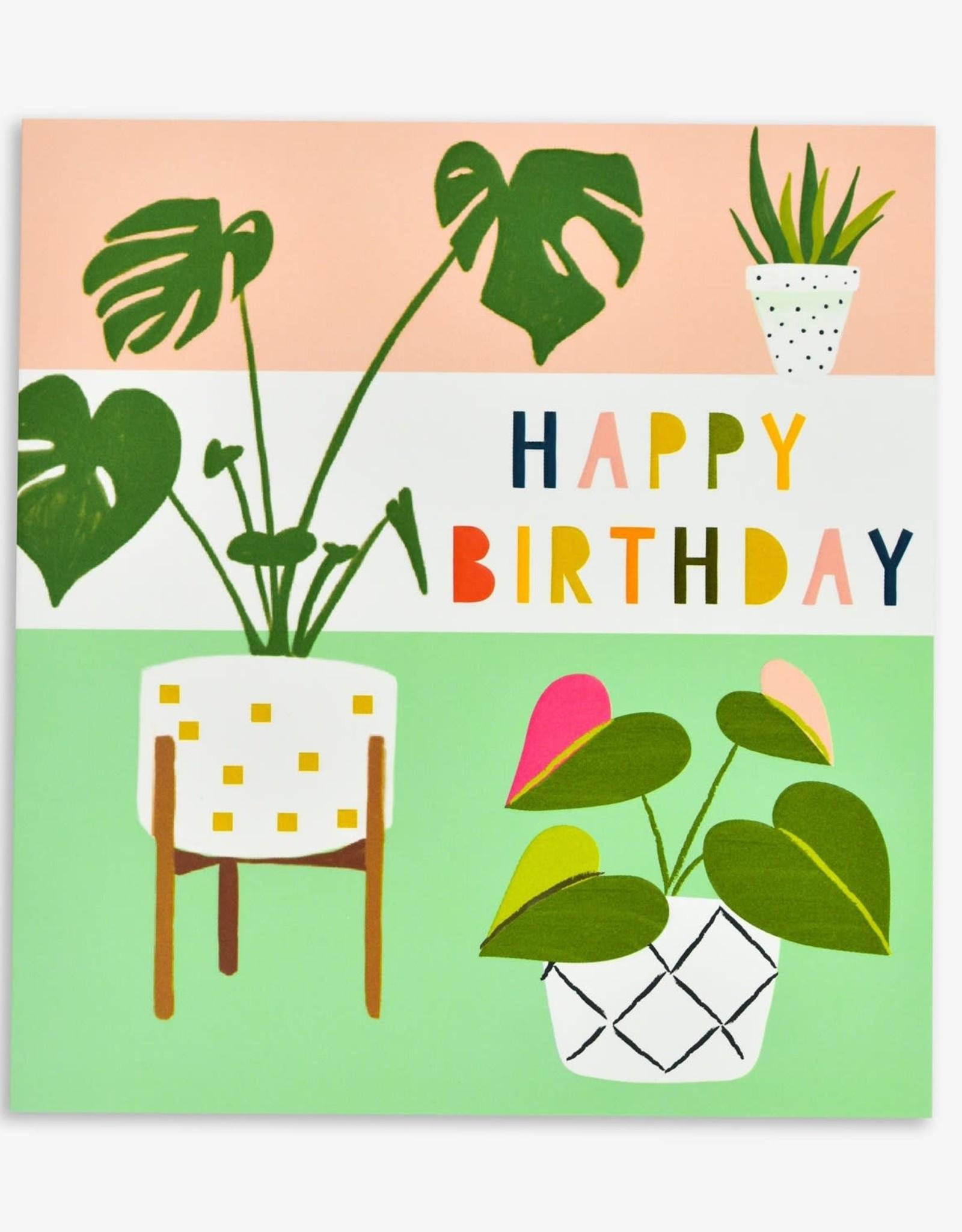 Paper E Clips Paper E Clips Birthday Plants Card