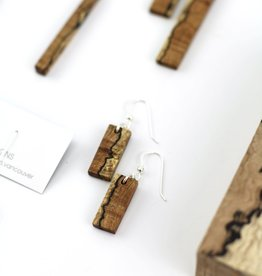 Billy Would Billy Would Spalted Earrings - Assorted