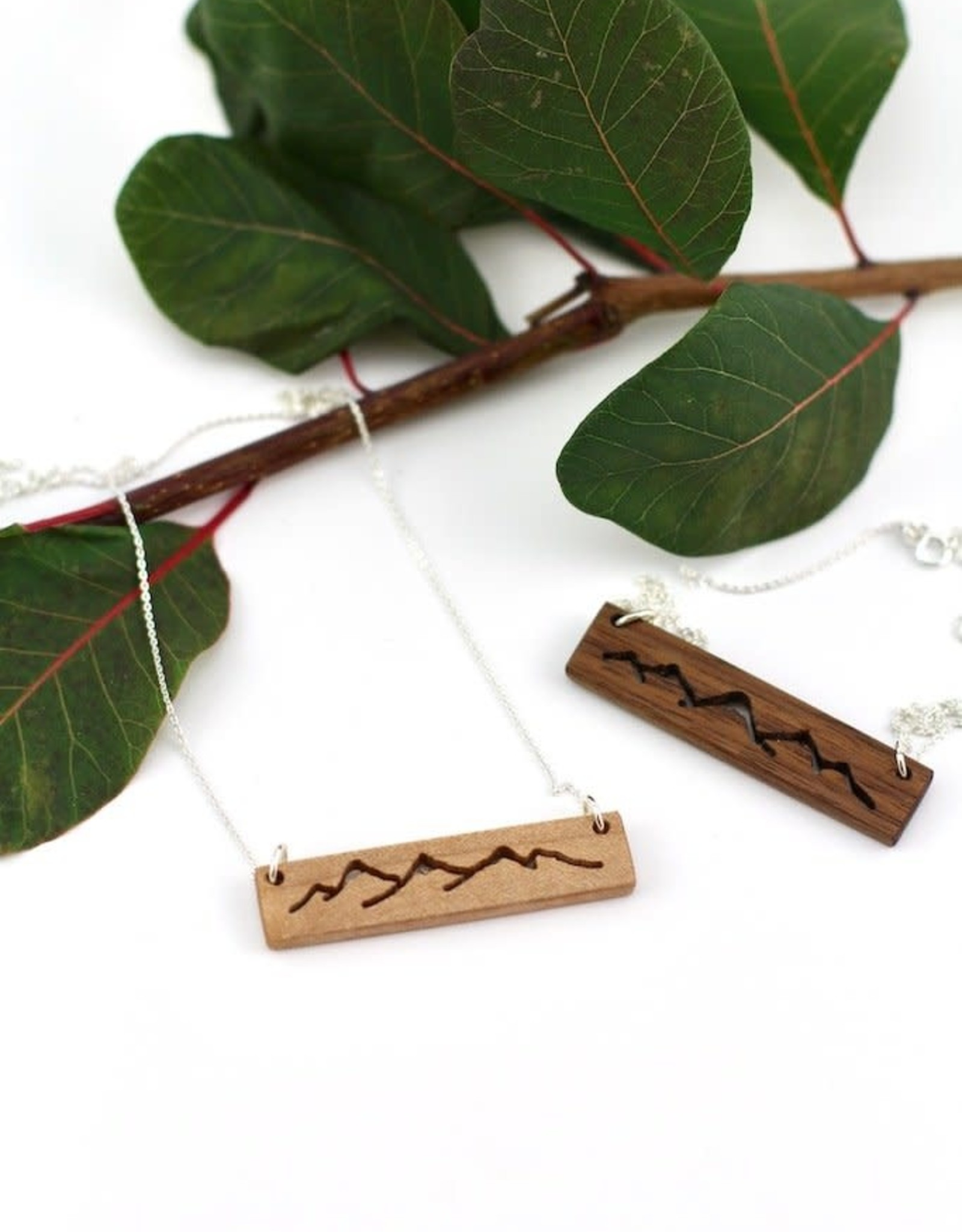 Billy Would Billy Would Mountain Range Necklace - Assortee