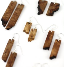 Billy Would Billy Would Live Edge Earrings - Assorted