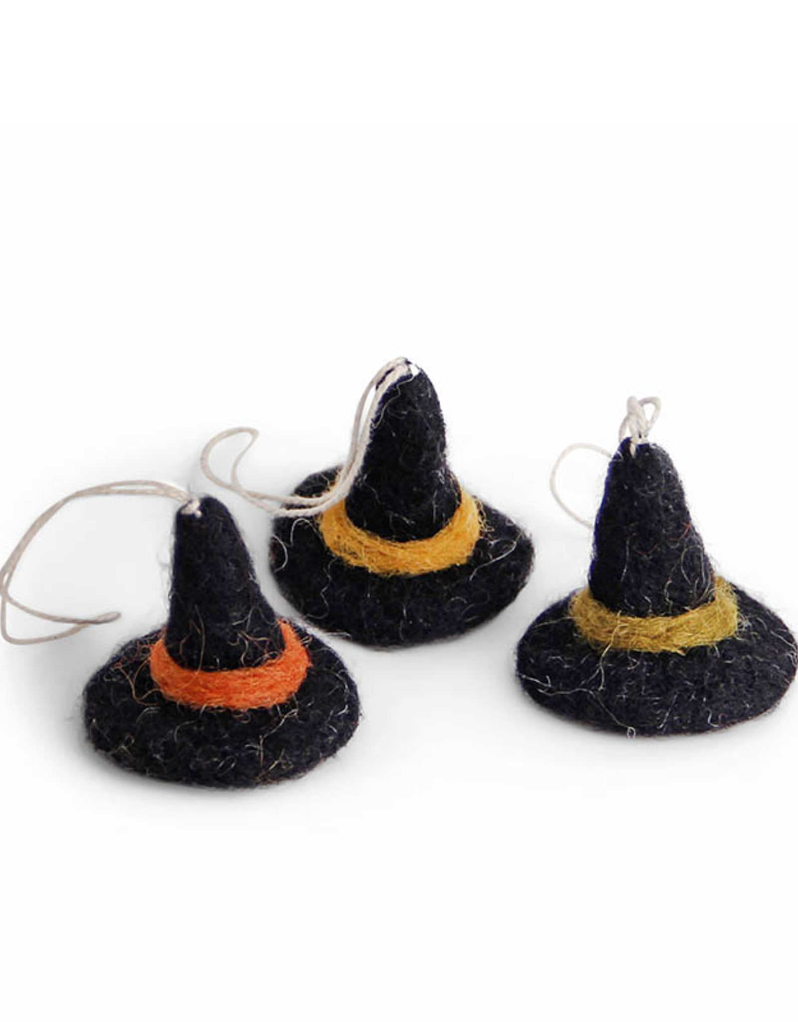 EGS EGS Ornaments - Witch Hats - Set 3