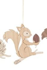Dregeno Dregeno Squirrel Ornament - Assorted