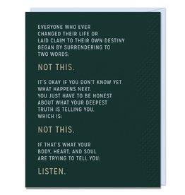 Em & Friends Not This Card