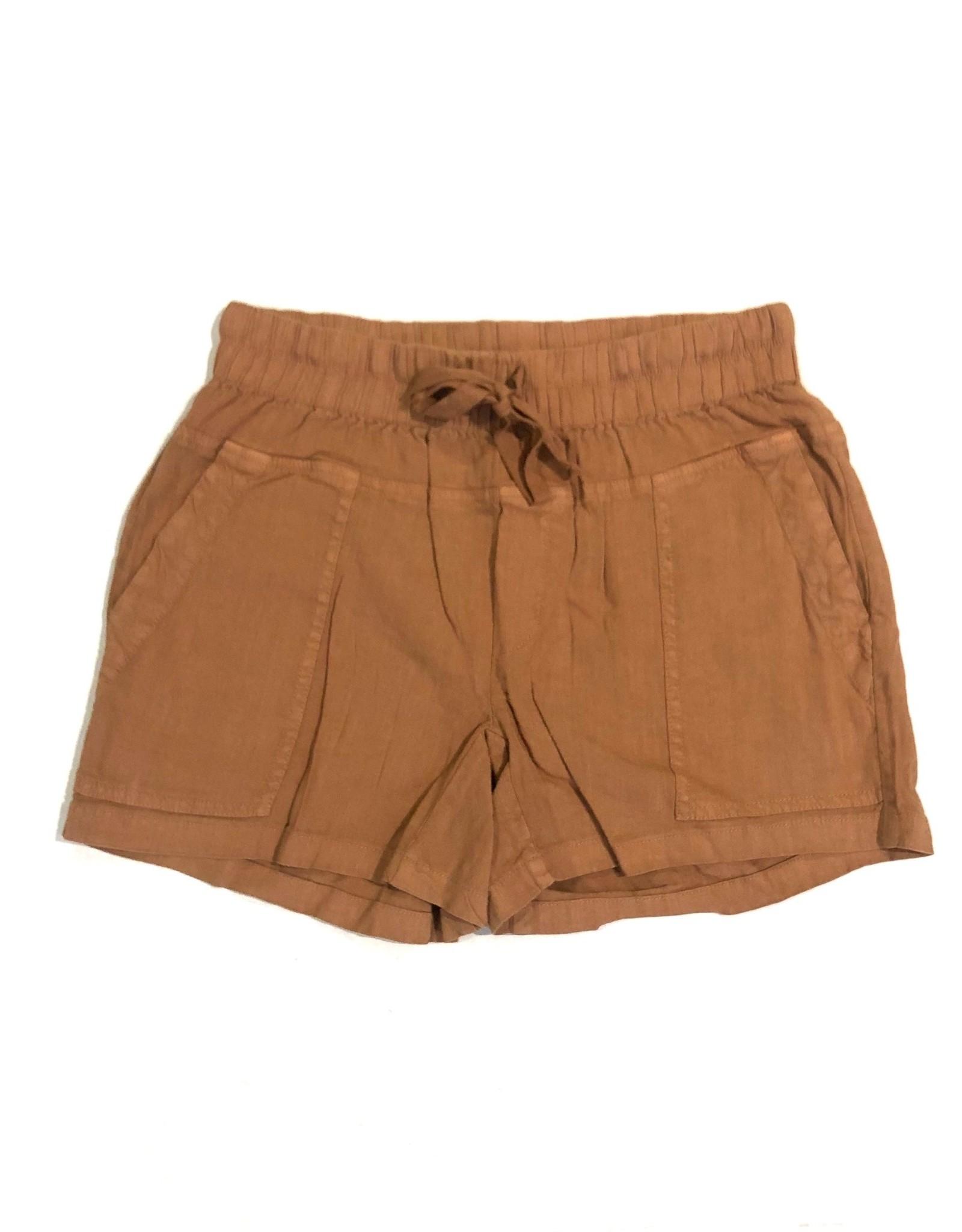 smocked waist shortkb35801